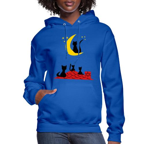Cats on the roof - Women's Hoodie