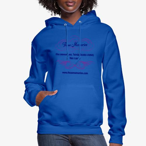 Those Memories Logo - Women's Hoodie
