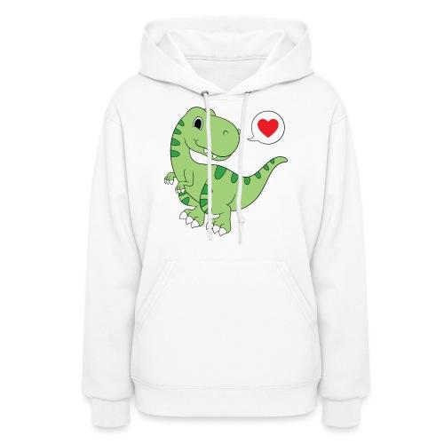 Dinosaur Love - Women's Hoodie