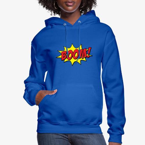 boom - Molleton à capuche pour femmes