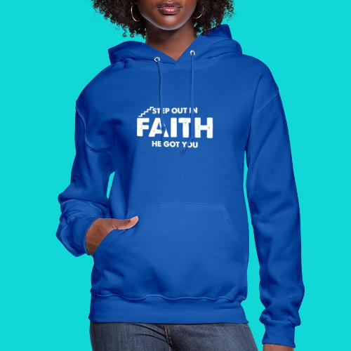 Step Out In Faith - Women's Hoodie