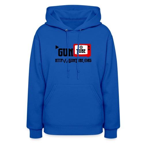 GunTube Shirt with URL - Women's Hoodie