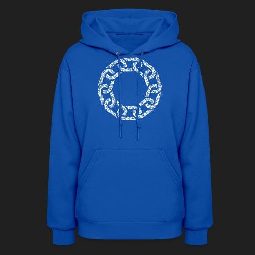 Brotherhood Hex Design - Women's Hoodie