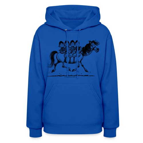 Gang of four Thelwell Cartoon - Women's Hoodie