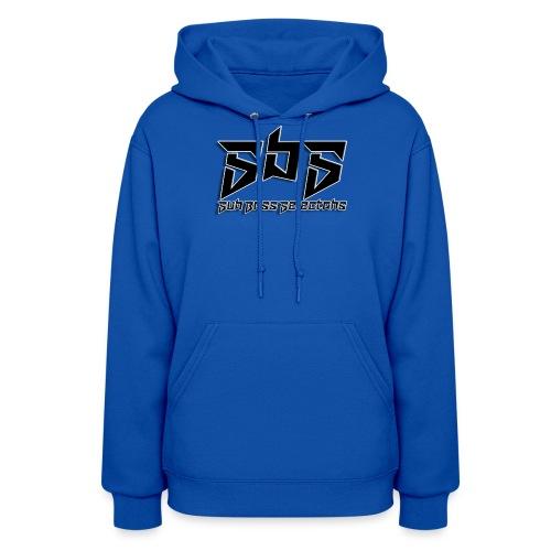 SbS Music Black Logo - Women's Hoodie