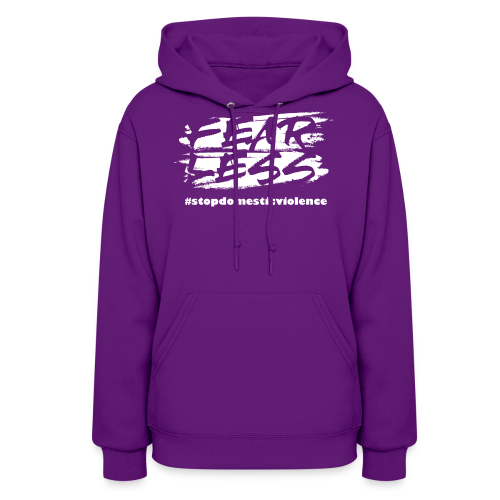 Purple October Limited Edition Domestic Violence - Women's Hoodie