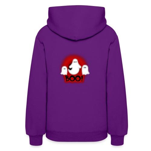 Ghosties Boo Happy Halloween 6 - Women's Hoodie