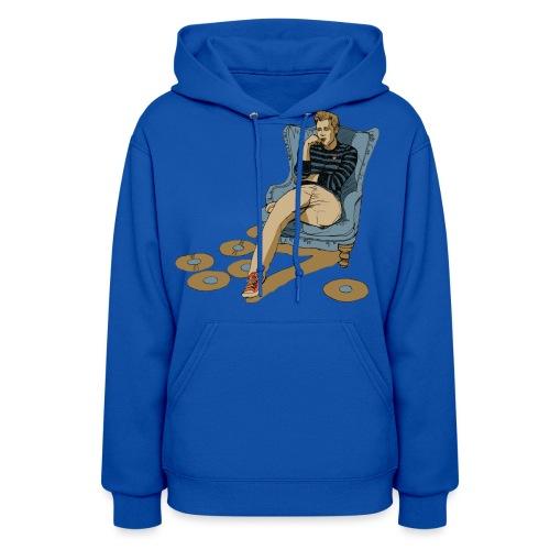 nicktshirt2transparentfilledcrop - Women's Hoodie