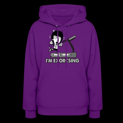 I'm Exorcising My Demon | Funny Halloween Workout - Women's Hoodie