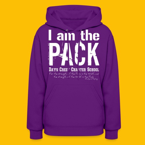 I am the PACK - Women's Hoodie