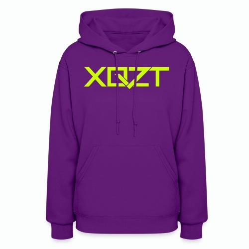 #XQZT Logo Lime Light - Women's Hoodie