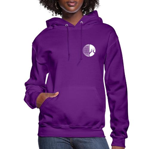 DMI Logo White - Women's Hoodie