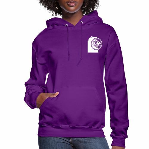 NT Strong Logo White - Women's Hoodie