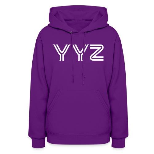 YYZ-White - Women's Hoodie