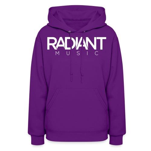 Radiant Text Logo - Women's Hoodie