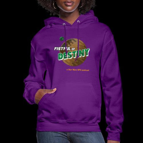 Fistful of Destiny Planets Design - Women's Hoodie