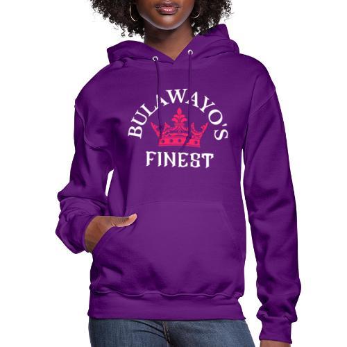 Bulawayo's Finest Pink Crown - Women's Hoodie