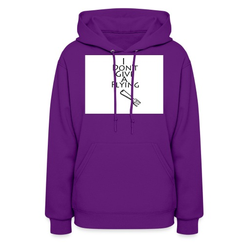 I Don't Give A Flying Fork - Women's Hoodie