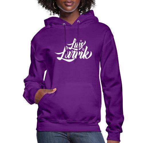 Luis Lurvik logo blanco - Women's Hoodie