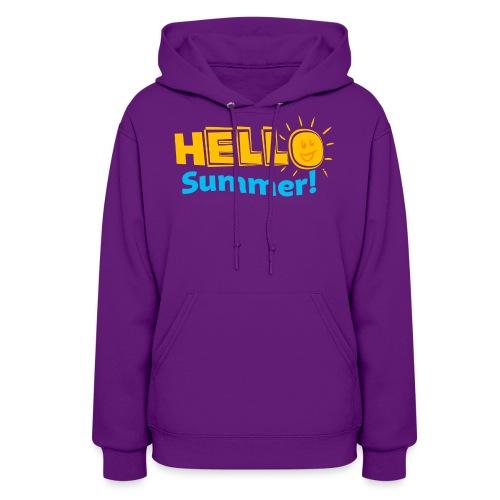 Kreative In Kinder Hello Summer! - Women's Hoodie