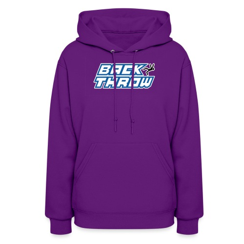 Back Throw Logo - Women's Hoodie