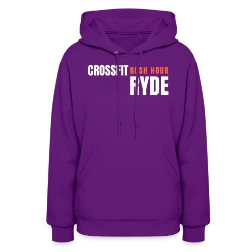 CrossFit Rush Hour Ryde - Standard Design - Women's Hoodie
