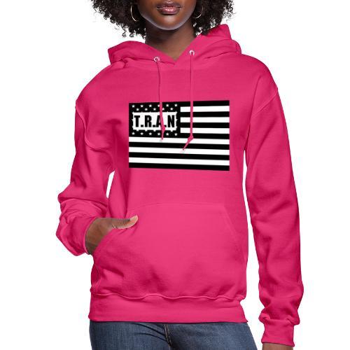 TRAN Logo jpg - Women's Hoodie