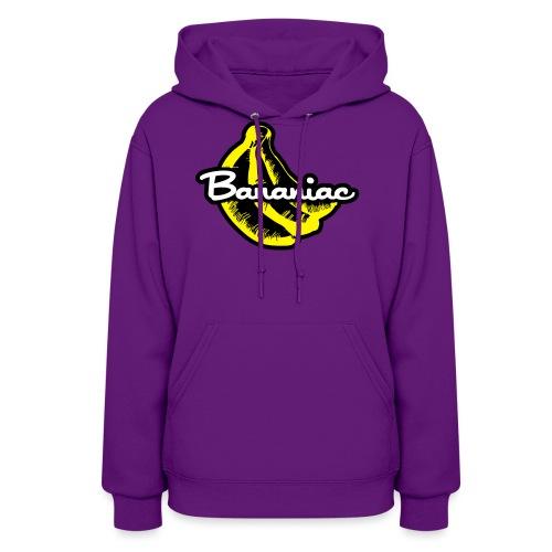 Bananiac Logo - Women's Hoodie