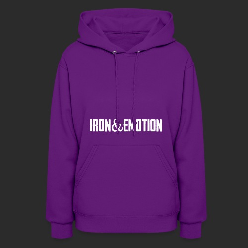 IRON EMOTION s LOGO - Women's Hoodie