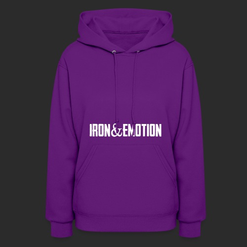 IRON EMOTION s LOGO - Women's Hoodie