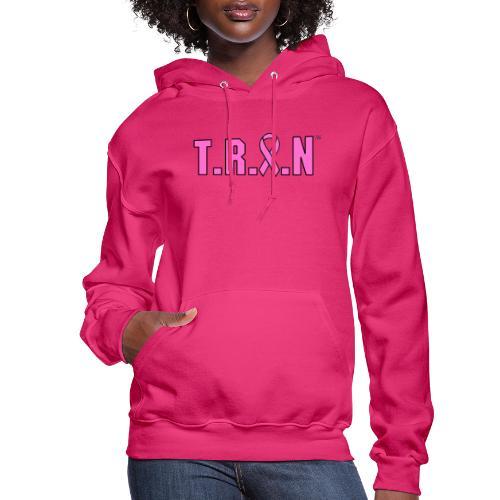 TRAN pink png - Women's Hoodie