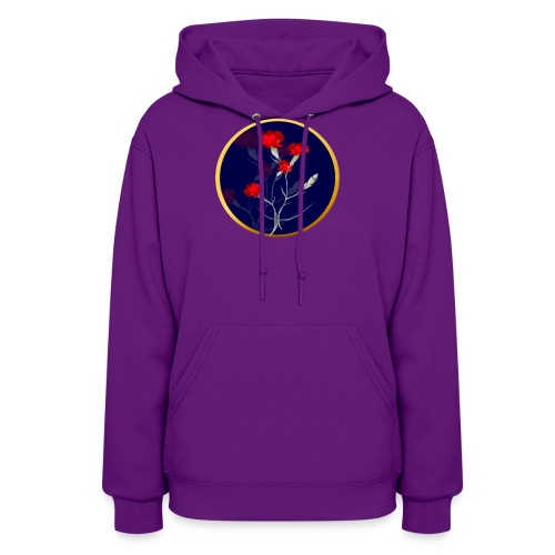 Carnations In A Circle - Women's Hoodie