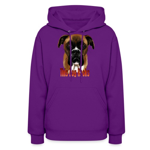 This Dog Rocks - Women's Hoodie
