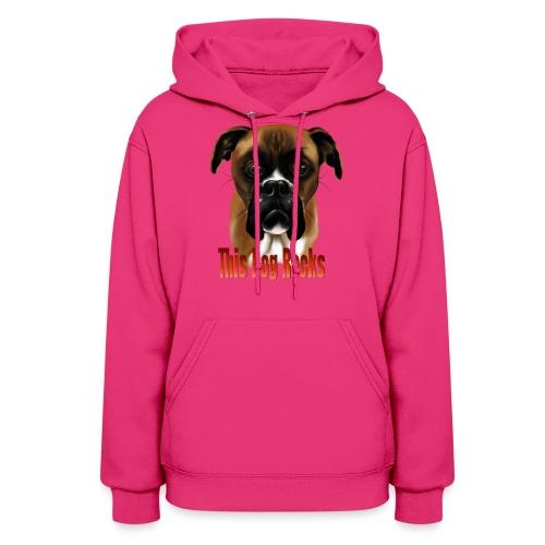 This Dog Rocks - Women's Hoodie