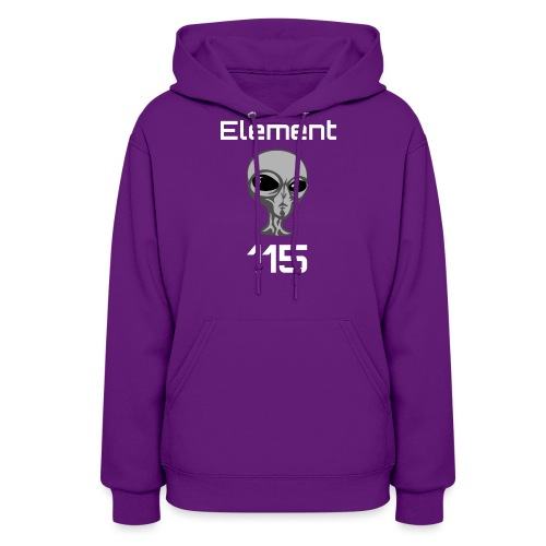 Element 115 Moscovium Alien Fuel - Women's Hoodie