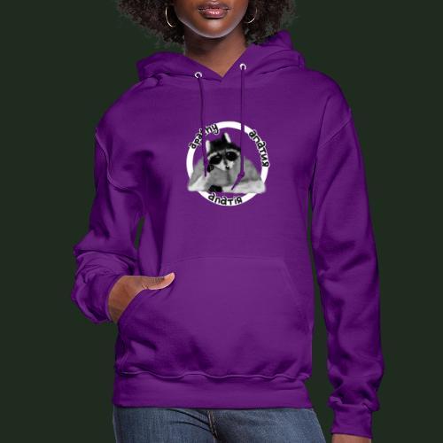 Apathy Raccoon - Women's Hoodie