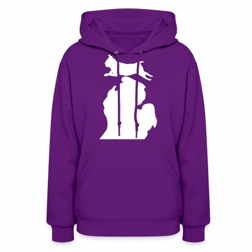Pug Bark Michigan womens shirt - Women's Hoodie