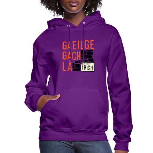 Bitesize Irish Merchandise - Women's Hoodie