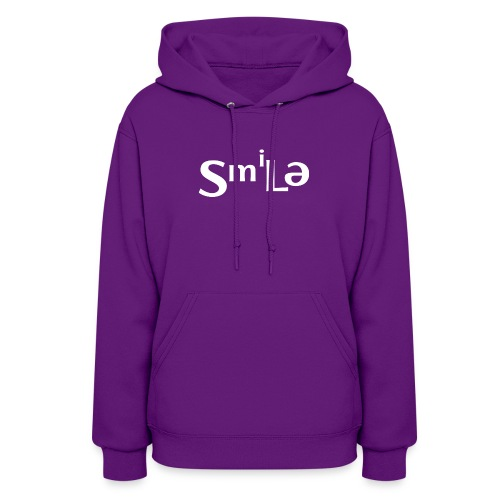 Smile Abstract Design - Women's Hoodie