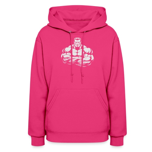 An Angry Bodybuilding Coach - Women's Hoodie