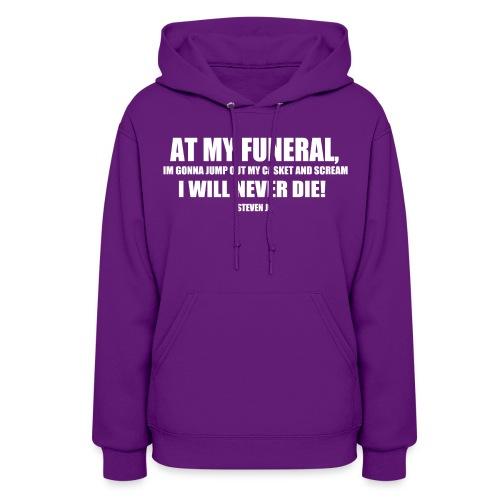 FUNERAL - Women's Hoodie