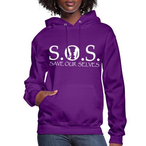 SOS WHITE4 - Women's Hoodie
