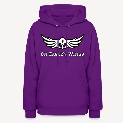 ON EAGLES WINGS - Women's Hoodie