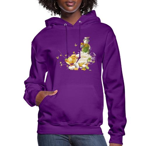 easter bunny easter egg holiday - Women's Hoodie