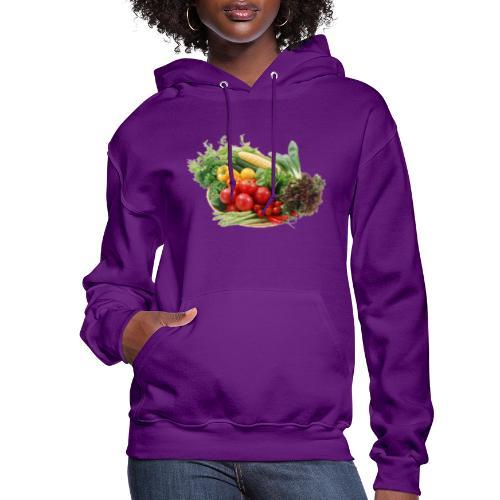 vegetable fruits - Women's Hoodie