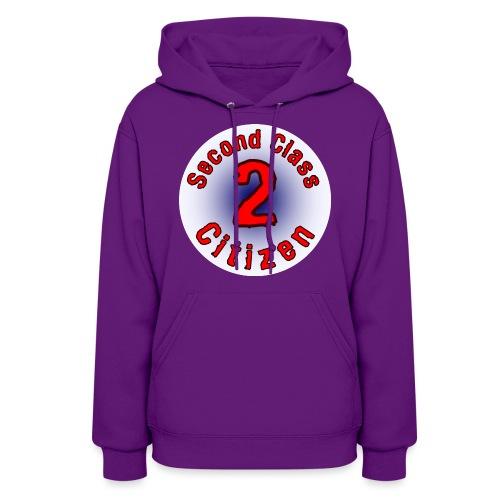 2nd Class Citizen Logo (Light) - Women's Hoodie