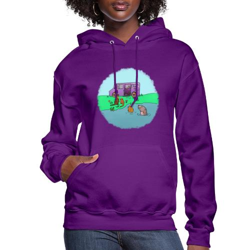 Sleve and the River Otters - Women's Hoodie