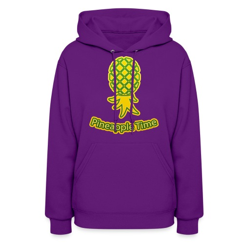 Swingers - Pineapple Time - Transparent Background - Women's Hoodie