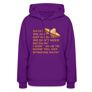 no stinking data - Women's Hoodie