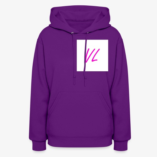 Pink VL Cursive - Women's Hoodie